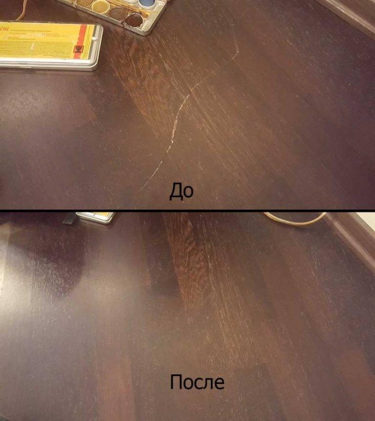 Как убрать царапины с мебели: 6 народных способов и 4 специальных средства  | mirnadivane.ru