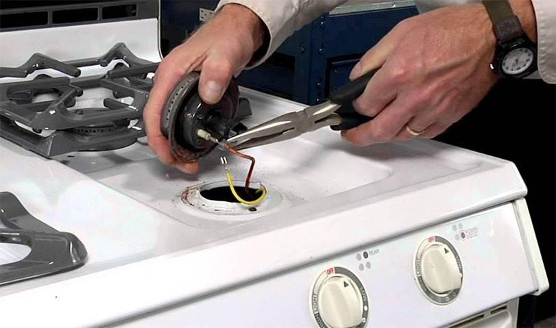 Ремонт газовой плиты gorenje: распространенные поломки и способы их устранения
