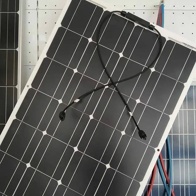 Применение гибких солнечных батарей