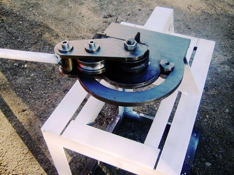 Самодельный трубогиб для профильной трубы: устройство и нюансы изготовления
