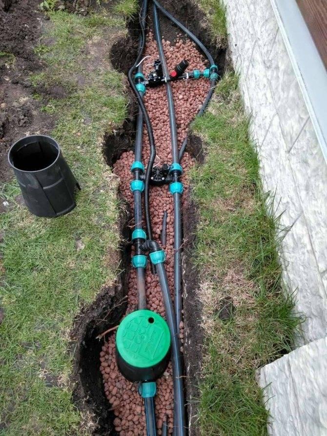 Система полива на даче из пластиковых труб своими руками