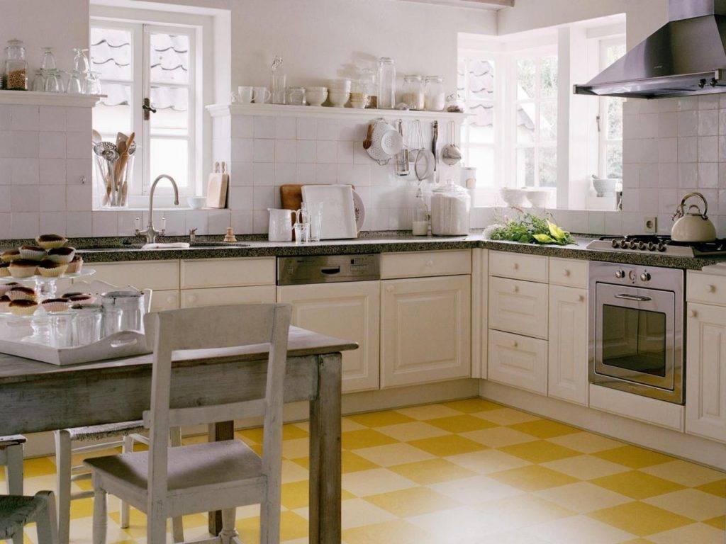 Как подобрать пол и фартук под кухонный гарнитур: с чем сочетать белые, бежевые, серые, черные и деревянные фасады кухни   houzz россия
