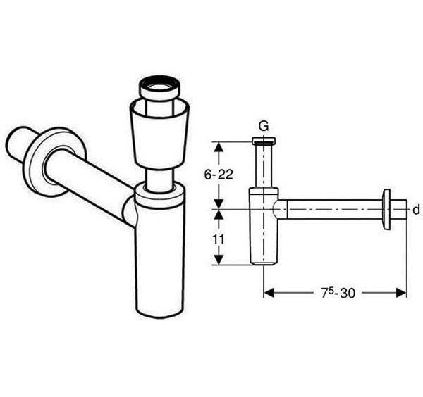 Донный клапан – зачем он нужен на раковине