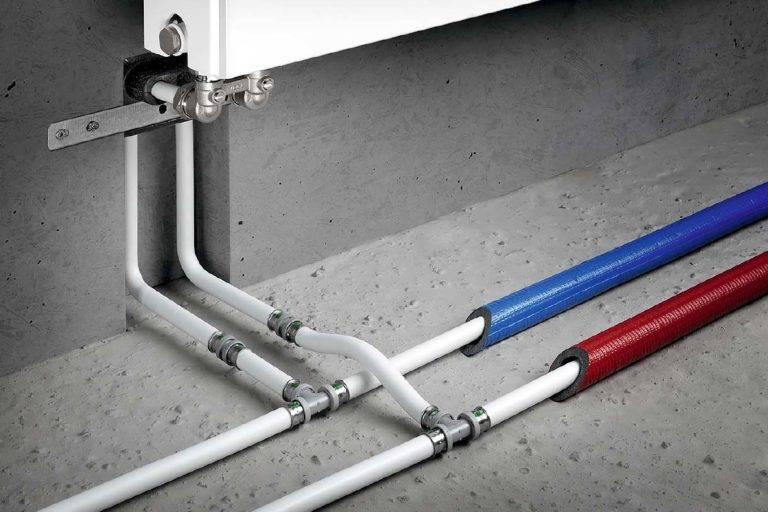 Какие трубы лучше использовать для теплого пола: металлопластиковые или полиэтиленовые