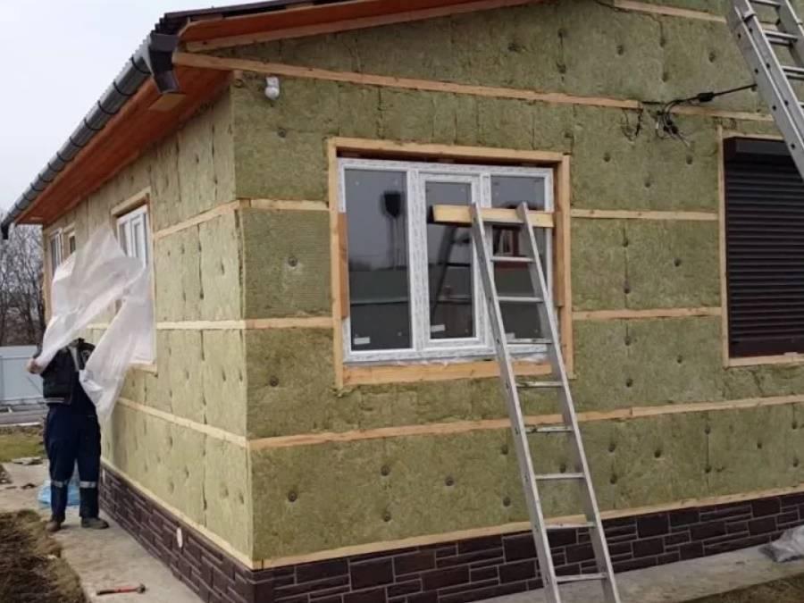 Теплоизоляция стен снаружи: материалы и выбор оптимального утеплителя для наружной стороны дома