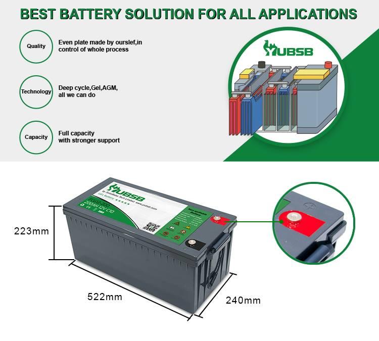Типы аккумуляторных батарей для систем автономного электроснабжения