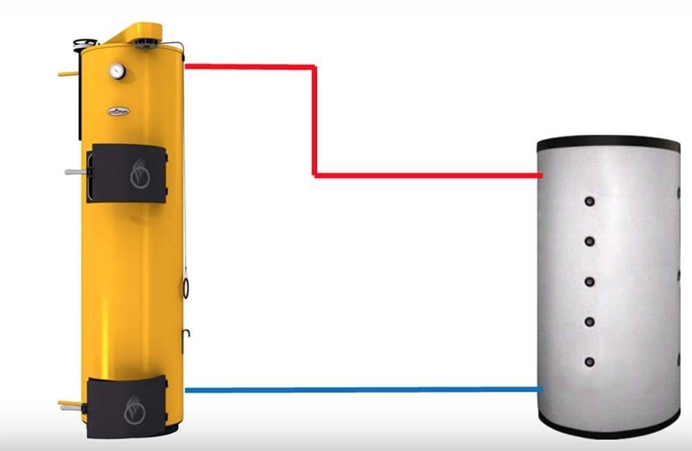 Теплоаккумулятор для системы отопления — устройство и принцип работы