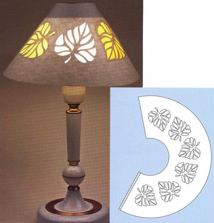 Абажур своими руками: простые шаги по созданию стильного и оригинального оформления напольных и настольных ламп