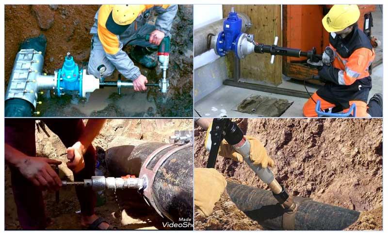 Врезка в газовую трубу: как врезаться под давлением, как сделать врезку без сварки, как подключиться