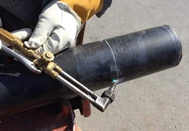 Как ровно отрезать трубу подручным инструментом [4 способа разметки]