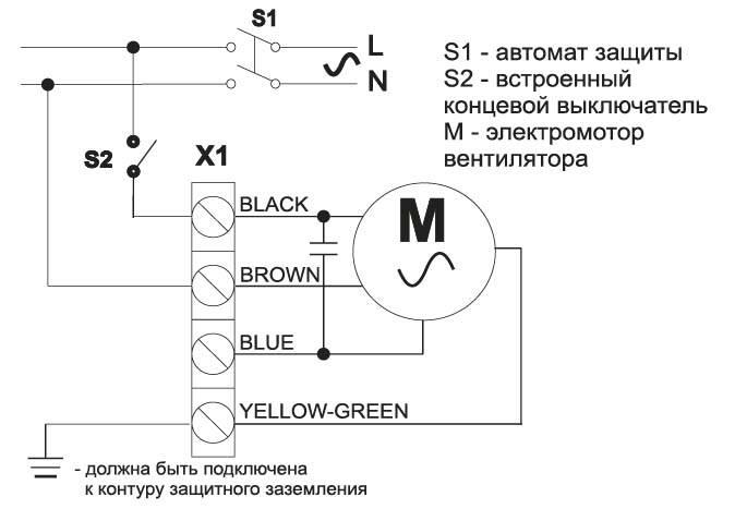 Двигатель от кондиционера как подключить