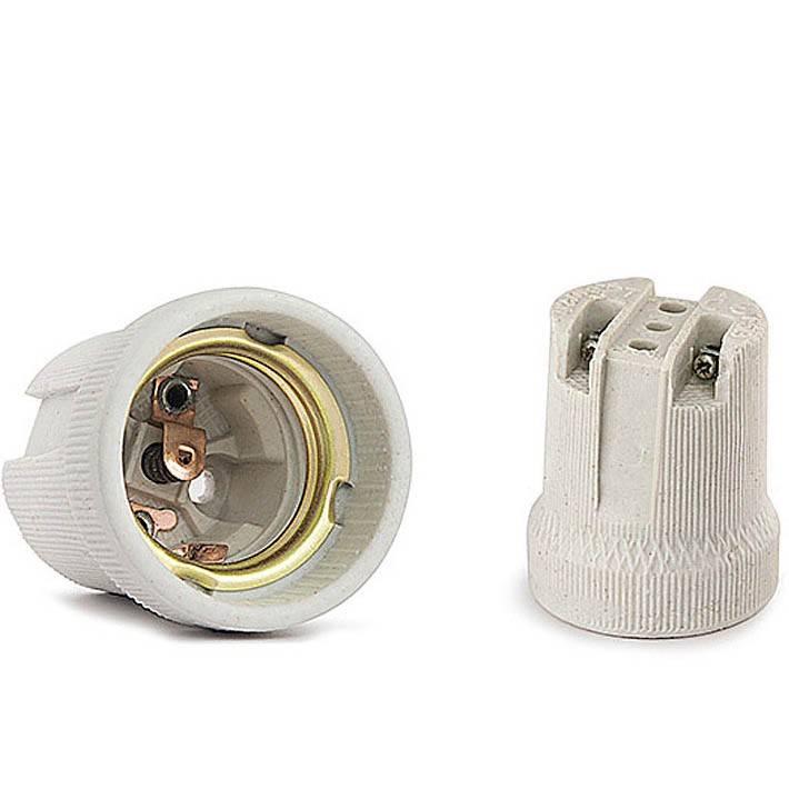 Виды патронов для лампочек: стандартные размеры, устройство и принцип работы