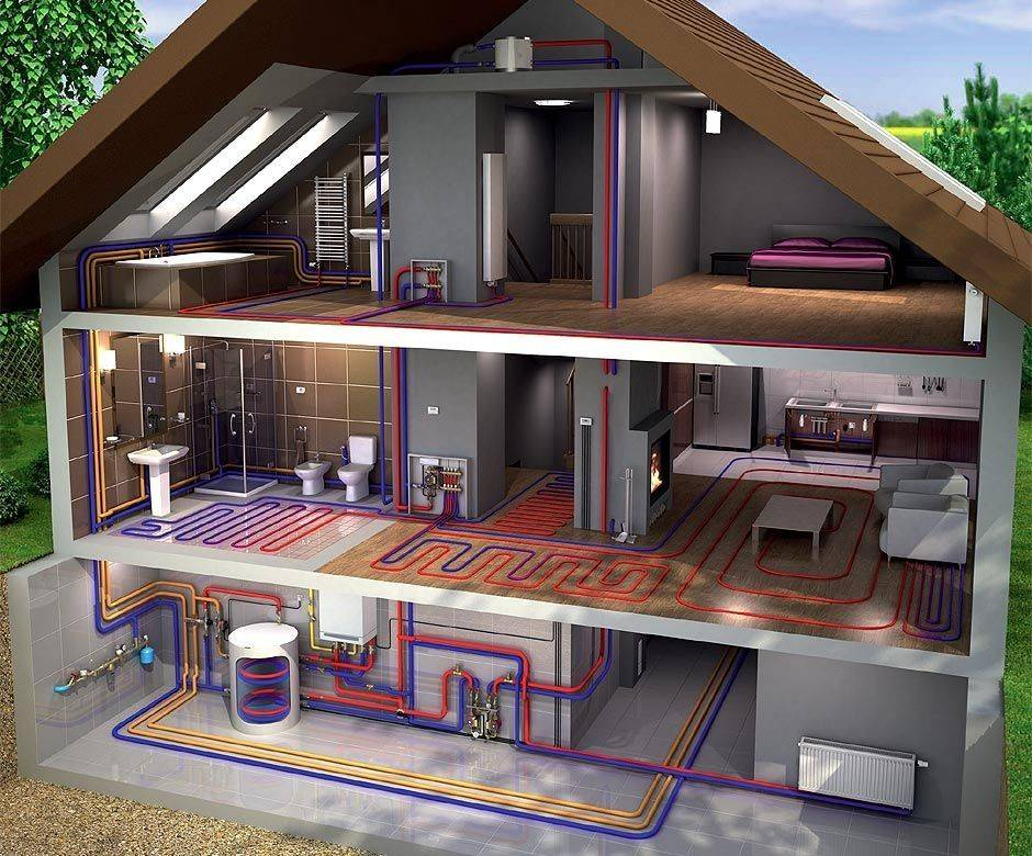 Отопительные системы в частном доме - что учесть при монтаже отопления?