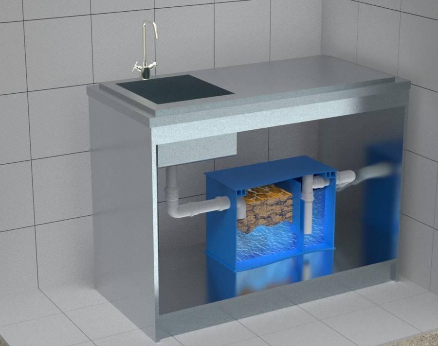 Жироуловитель для промышленной очистки воды
