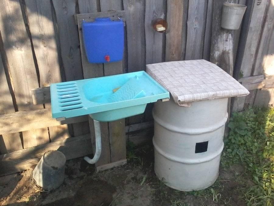 Рукомойник уличный с системой подогрева воды: создание дачного, садового умывальника