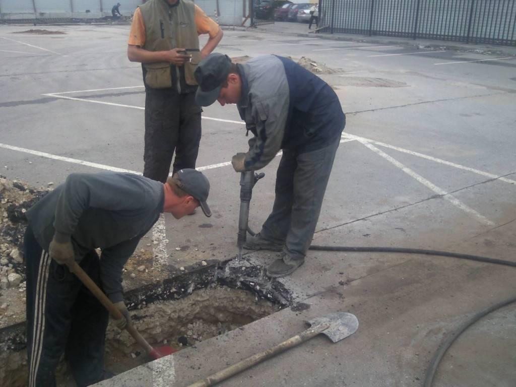 Разборка цементно-песчаной стяжки: инструкция по демонтажу и его особенности   отделка в доме