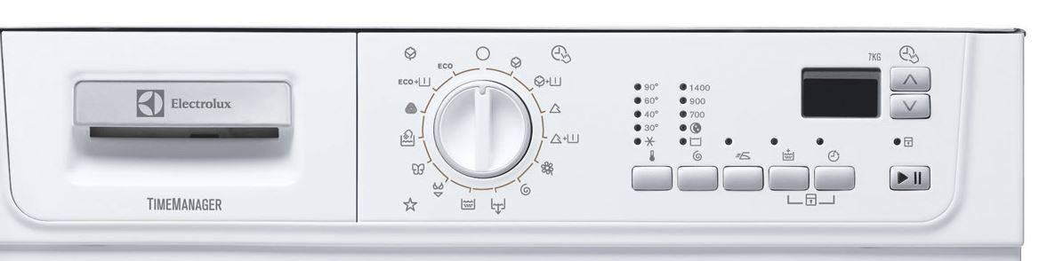 8 лучших стиральных машин electrolux
