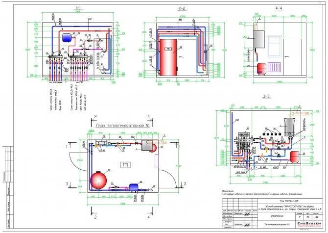 Установка газового котла в частном доме: требования и снип