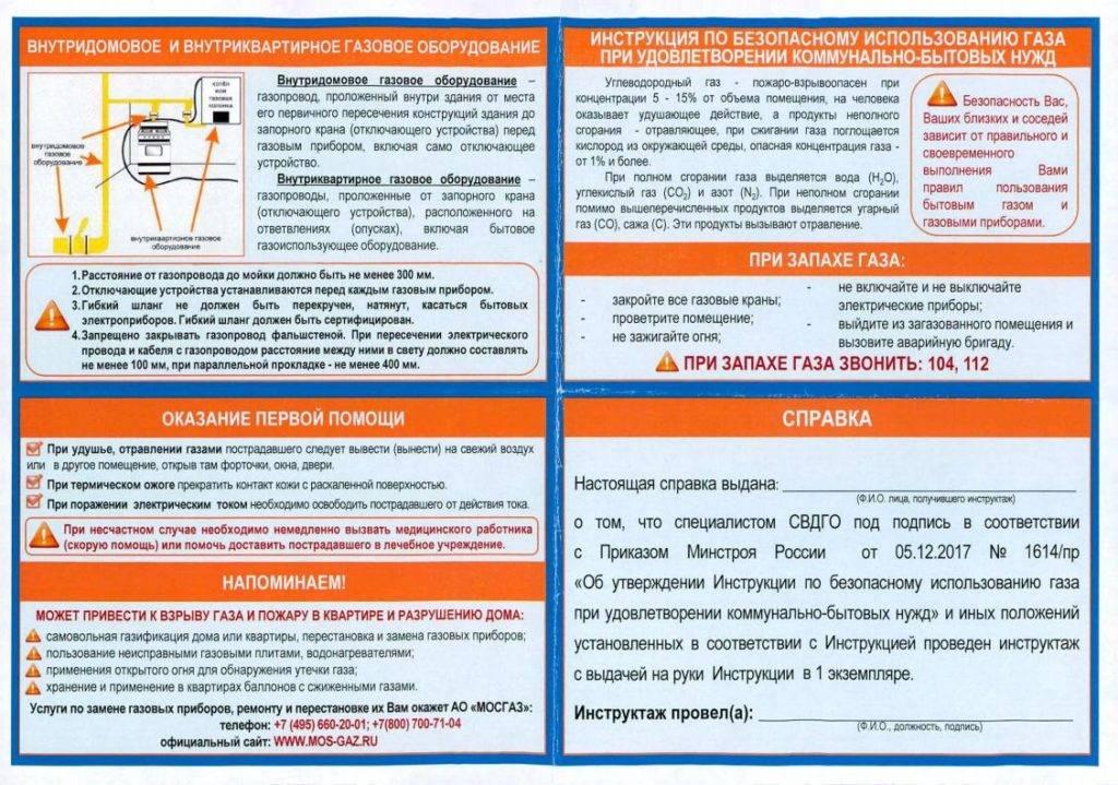 Безопасность газовых котлов и особенности их установки