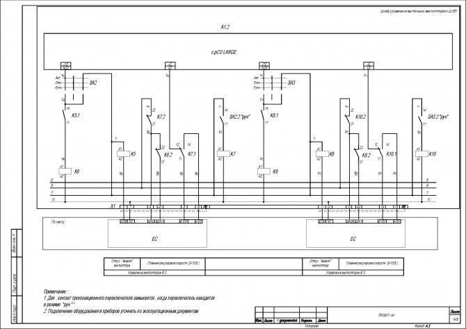 Щит управления вентиляцией: устройство + зачем нужен + как собрать   отделка в доме