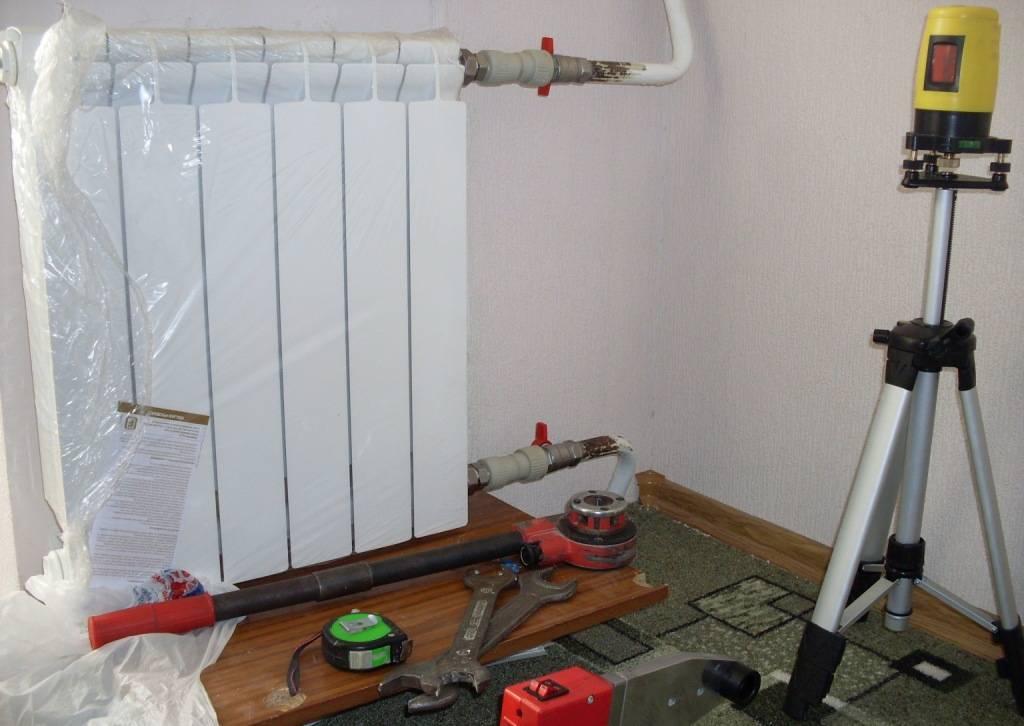 Как снять радиатор отопления в квартире без последствий