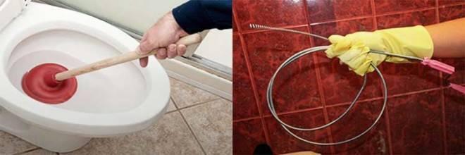 Засорился унитаз что делать, как прочистить унитаз в домашних условиях если он забился