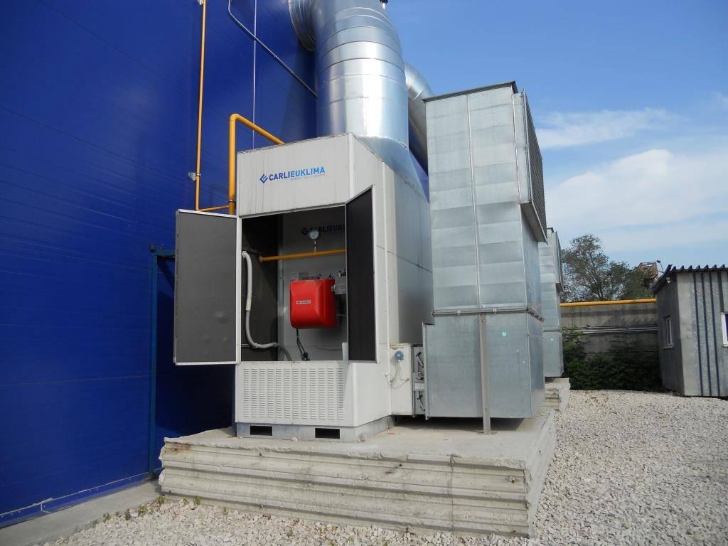 Газовые теплогенераторы для воздушного отопления, их виды, преимущества, расчёт мощности