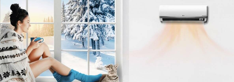 Можно ли включать кондиционер зимой: обогрев и охлаждение при низких температурах. как работает кондиционер на обогрев