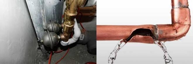 Последствия скачков давления в системах отопления: почему возникает гидроудар и как его предупредить? что такое гидроудар в системе отопления: причины возникновения и последствия
