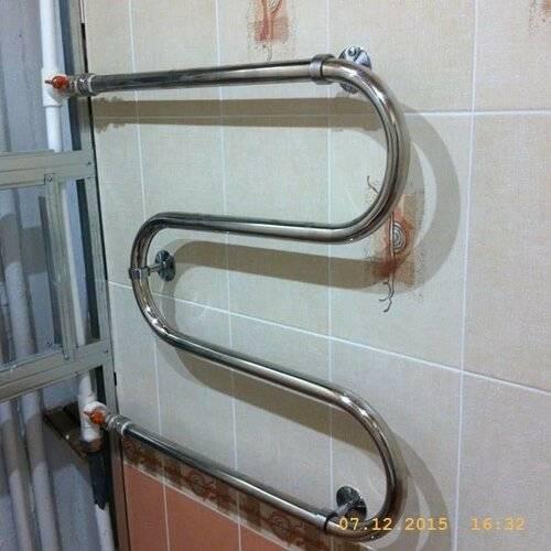 Перенос полотенцесушителя (нужен совет , рекомендации). строительный форум (основной)