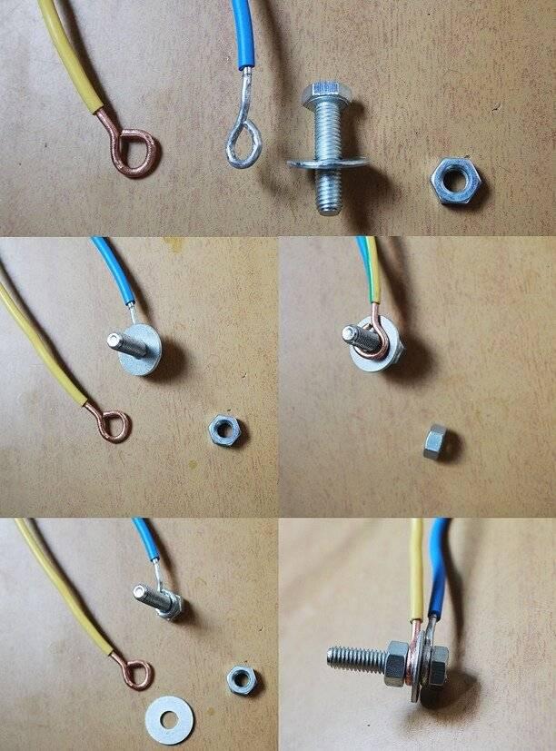 Соединение медного и алюминиевого провода, как соединить