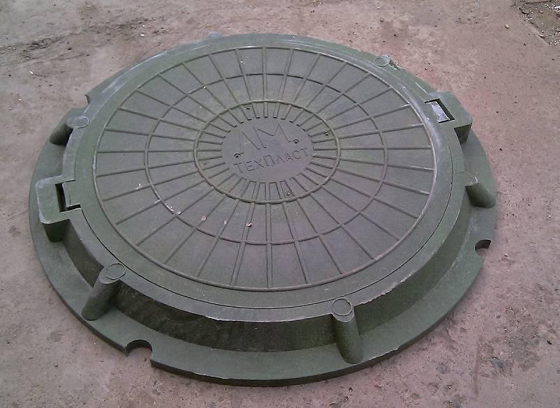 Стандартные размеры канализационных пластиковых люков:квадратный,круглый