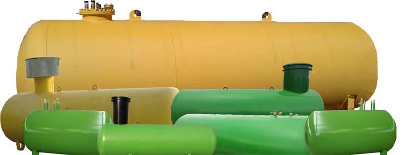 Вертикальный газовый газгольдер. вертикальный газгольдер: обзор моделей и особенности монтажа под ключ. вертикальные газгольдеры для загородного дома