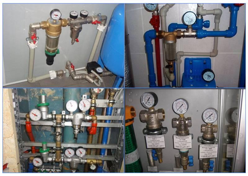 Нормативы давления воды в водопроводах квартир