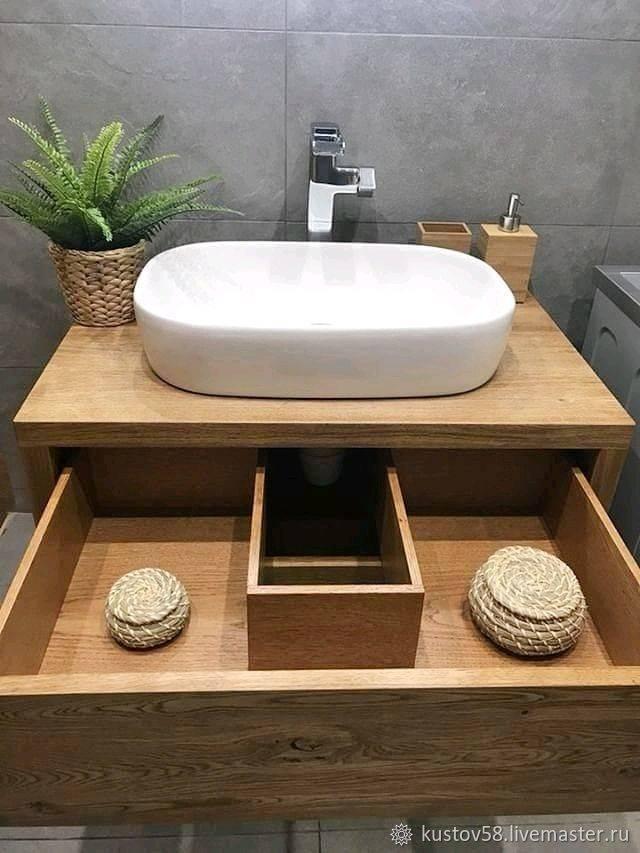 Раковина для ванны накладная на столешницу: выбор, установка