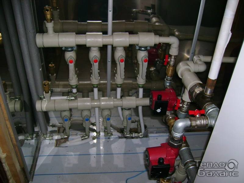 Гребенка распределительная для отопления: рекомендации по размещению и монтажу