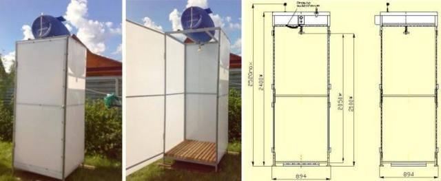 Летний душ для дачи своими руками: выбор типа конструкции, систем водоснабжения, мастер-класс изготовления и отделки душа своими руками