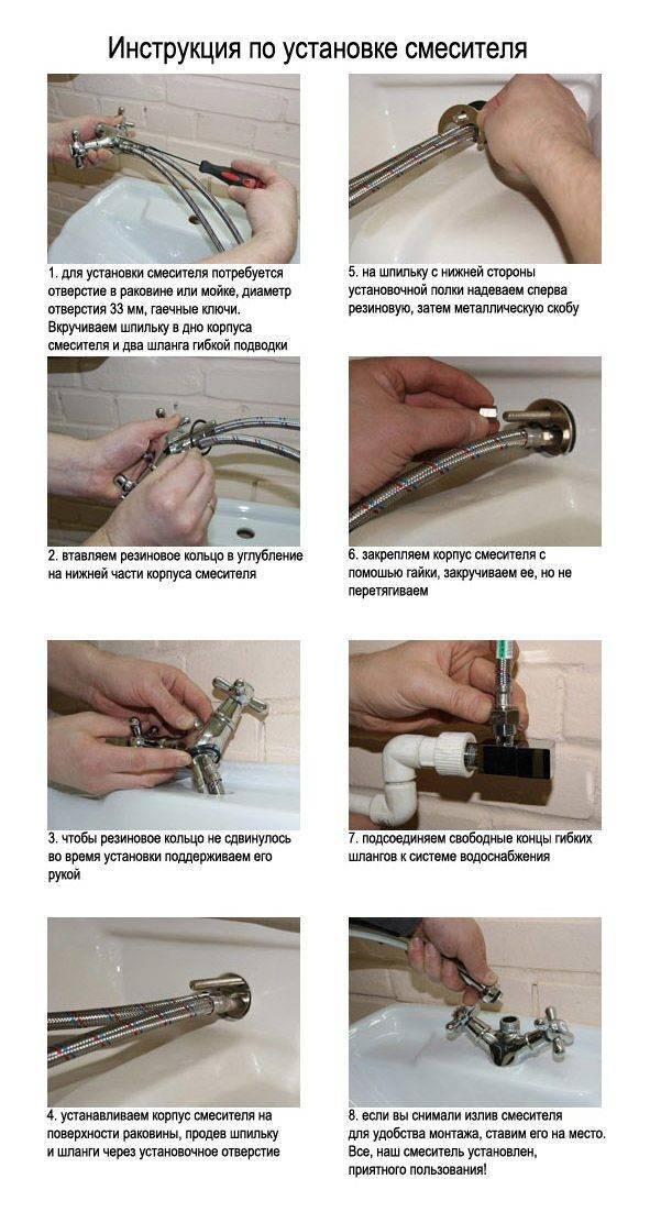 Картридж для смесителя: замена, размеры, разновидности, ремонт