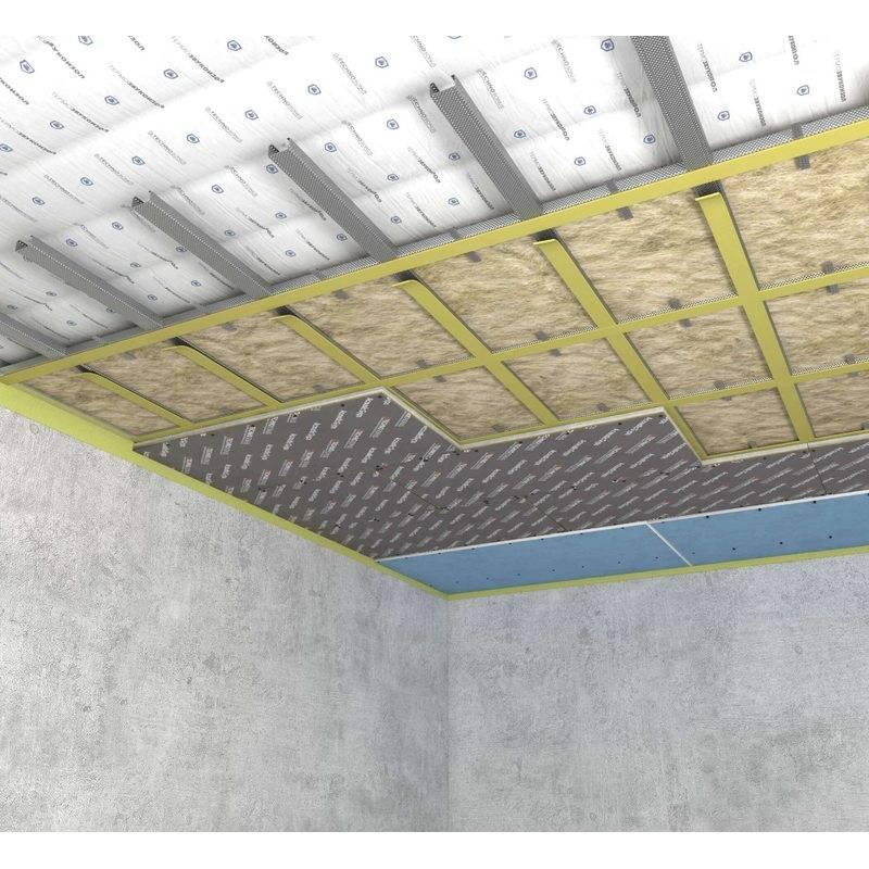 Шумоизоляция потолка в квартире - звукоизоляция от соседей сверху, отзывы и современные стандарты