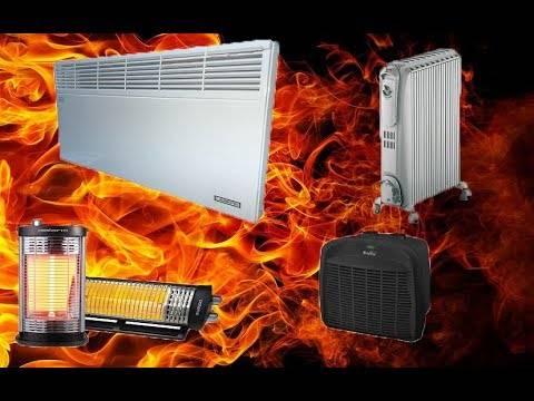 Как выбрать экономичный обогреватель для отопления гаража