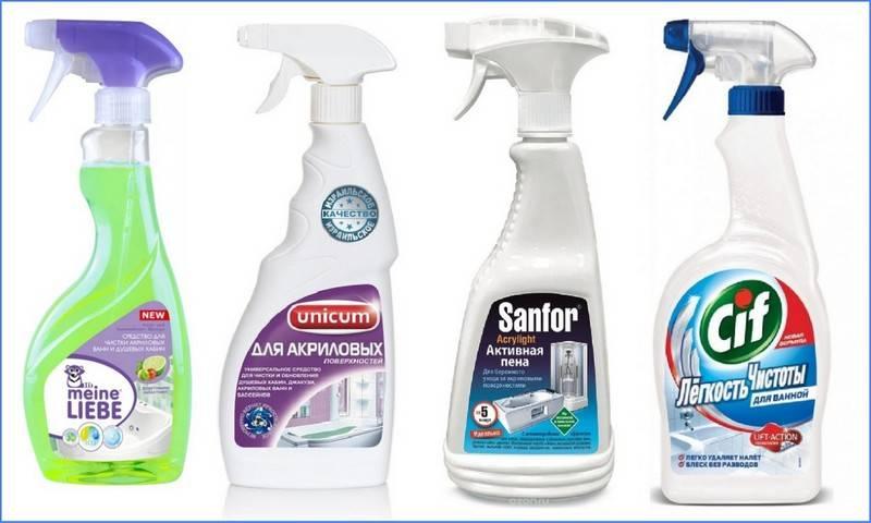 Акриловые ванны — как ухаживать? чем мыть акриловую ванну в домашних условиях?