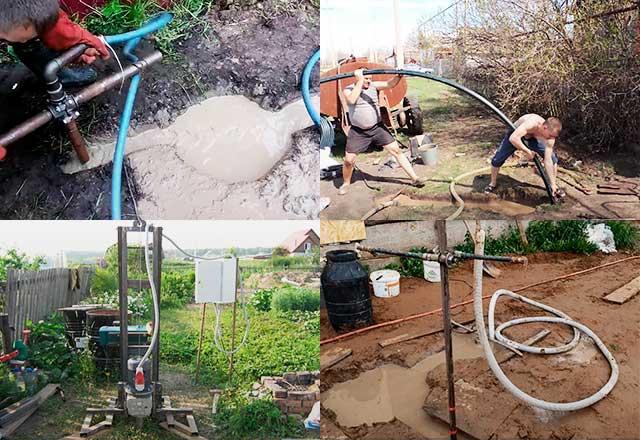 Гидробурение скважин на воду своими руками: технология и этапы работ, необходимые инструменты