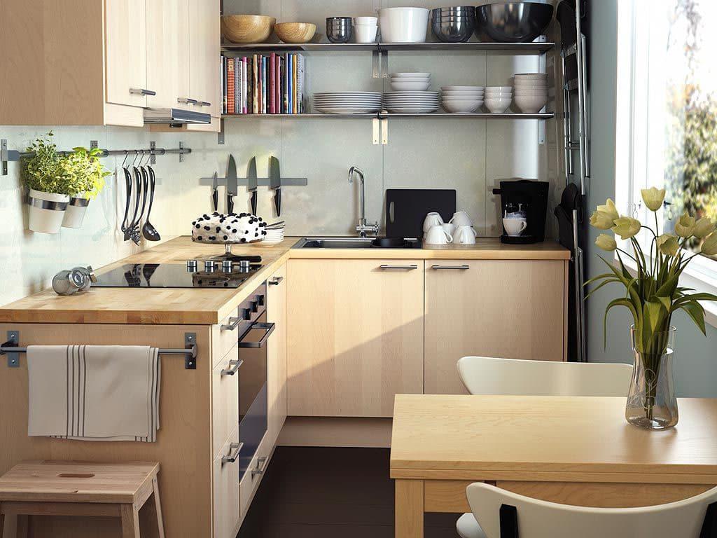 Дизайн маленькой кухни: 16 макси-идей и 100 фото [2021]
