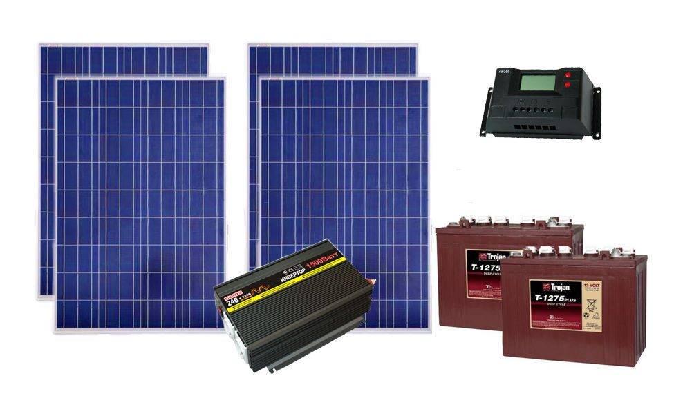 Инвертор для солнечных батарей - сетевые, автономные, гибридные модели