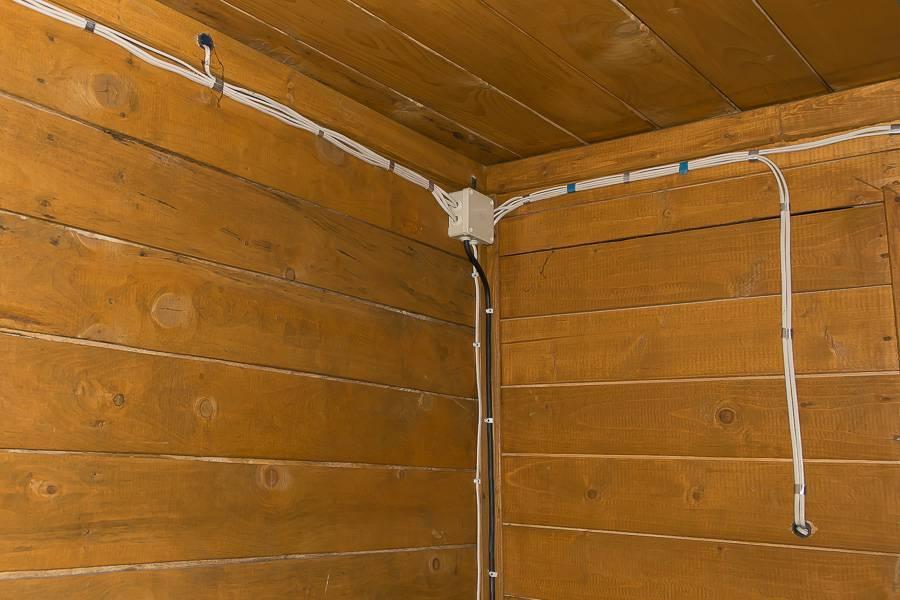 Как самостоятельно развести электропроводку в квартире по потолку