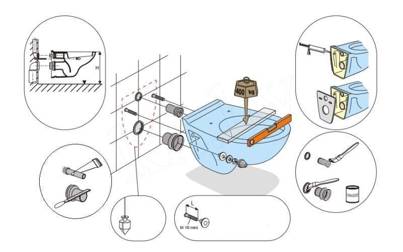 Подвесной унитаз: конструкция, виды, установка