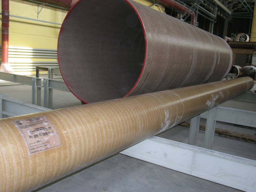 Стеклопластиковые трубы: виды, область применения, характеристики, производители