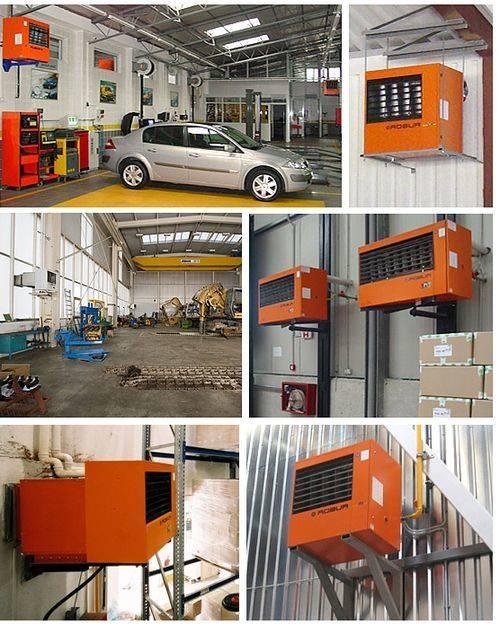 Теплогенераторы для воздушного отопления на твердом топливе