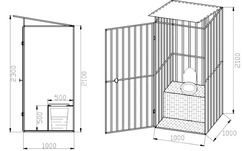 Как сделать туалет своими руками пошагово (140 фото): чертежи, схемы, инструкция, советы