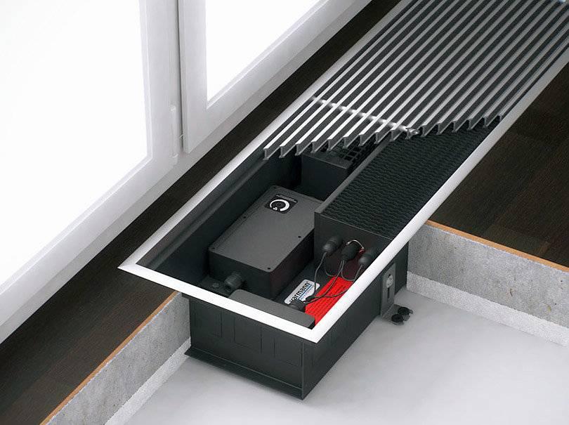 Какой конвектор лучше для квартиры и как выбрать внутрипольный конвектор отопления